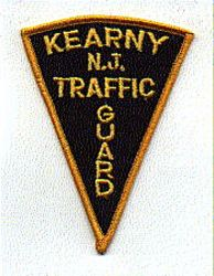 Kearny Traffic Guard Patch (NJ)