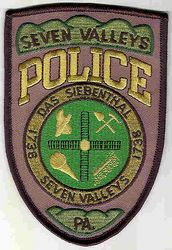 Seven Valleys 1738 Police Patch (PA)