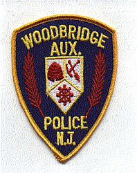 Woodbridge Aux. Police Patch (small) (NJ)