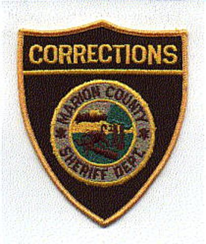 Sheriff: FL, Marion Co  Sheriff's Dept  Corrections Patch