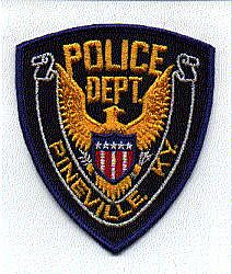 Pineville Police Patch (no chain) (KY)