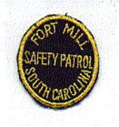 Fort Mill Safety Patrol Patch (SC)(small)