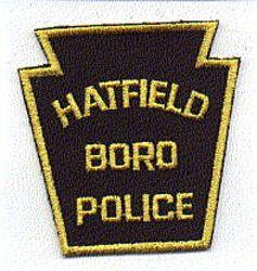 Hatfield Boro Police Patch (twill) (PA)