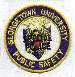 School: DC, Georgetown Univ. Public Safety Special Police Patch