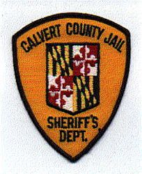 Sheriff: MD, Calvert Co. Jail Sheriffs Dept. Patch