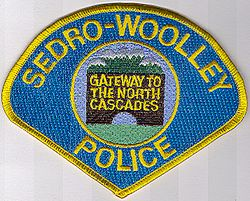 Sedro-Woolley Police Patch (WA)