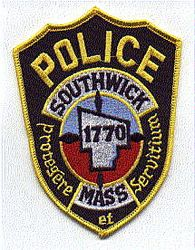 Southwick 1770 Police Patch (full color) (MA)