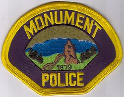 Monument Police Patch (CO)