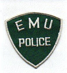 Misc: EMU Police Patch (white edge)