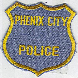 Phenix City Police Patch (vintage) (AL)