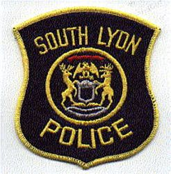 South Lyon Police Patch (large) (MI)