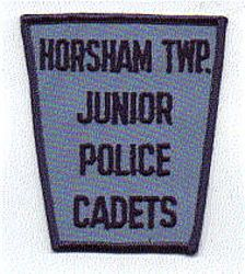 Horsham Twp. Junior Cadets Police Patch (blue edge) (PA)
