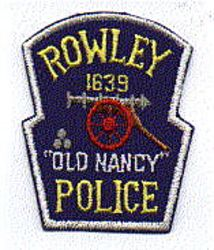 Rowley Police Patch (cap)(MA)