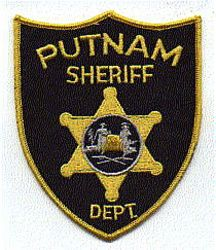 Sheriff: WV. Putnam Sheriffs Dept. Patch (black/gold)