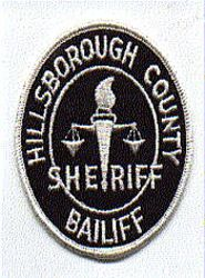 Sheriff: FL, Hillsborough Co. Bailiff Sheriff Patch