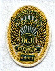 Middlesex Co. Chief Patch (NJ)