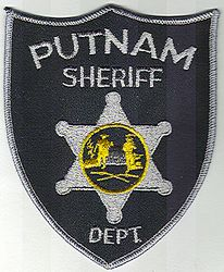 Sheriff: WV. Putnam Sheriffs Dept. Patch (black/gray)