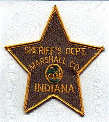 Sheriff: IN, Marshall Co. Sheriffs Dept. Patch