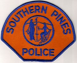 Southern Pines Police Patch (NC)
