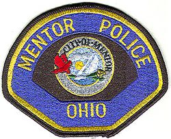 Mentor Police Patch (large) (OH)