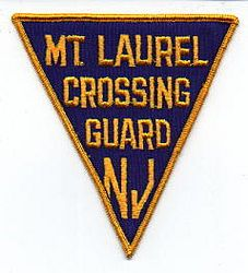 Mt. Laurel Crossing Guard Patch (NJ)