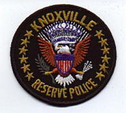 Knoxville Reserve Police Patch (black edge) (TN)