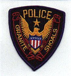Granite Shoals Police Patch (TX)