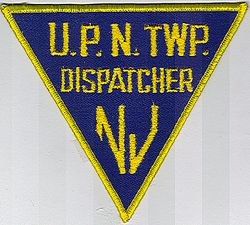 U.P.N. Twp. Dispatcher Patch (NJ)