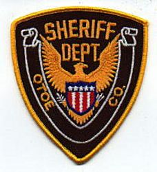 Sheriff: NE, Otoe Co. Sheriffs Dept. Patch