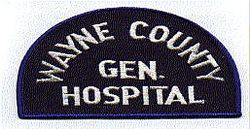 Wayne Co. General Hospital Patch (MI)
