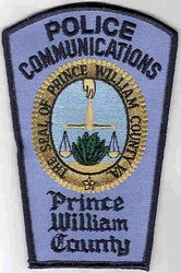 Prince William Co. Police Patch (Co. Seal, Communications) (VA)