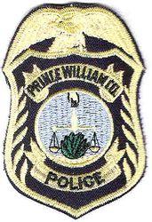 Prince William Police Patch (cap badge) (VA)