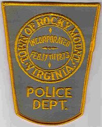 Rocky Mount Police Patch (VA)