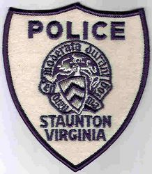 Staunton Police Patch (old) (VA)