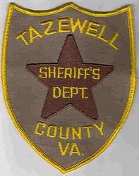 Sheriff: VA. Tazewell Co. Sheriffs Dept. Patch