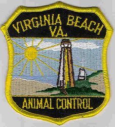Virginia Beach Animal Control Patch (VA)