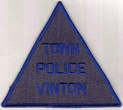 Vinton Town Police Patch (VA)