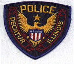 Decatur Police Patch (IL)