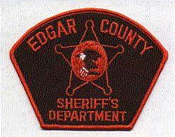 Sheriff: IL, Edgar Co. Sheriffs Dept. Patch (orange/brown)