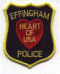 Effingham Heart of USA Police Patch (IL)