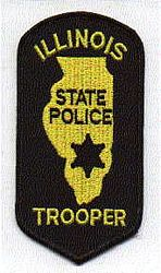 State: IL, State Police Trooper Patch