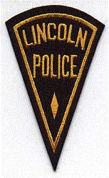 Lincoln Police Patch (IL)