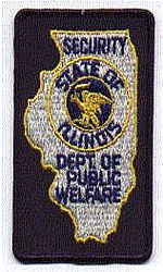 Security Dept. of Public Welfare Patch (IL)
