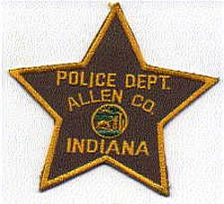 Allen Co. Police Patch (IN)