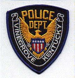 Vinegrove Police Patch (KY)