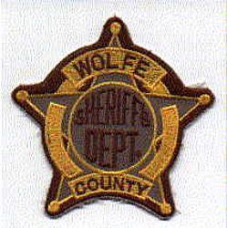 Sheriff: KY, Wolfe Co. Sheriffs Dept. Patch