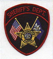 Sheriff: LA, Ascension Parish Sheriffs Dept. Patch (red edge)