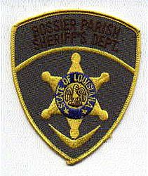 Sheriff: LA, Bossier Parish Sheriffs Dept. Patch (shield shape)