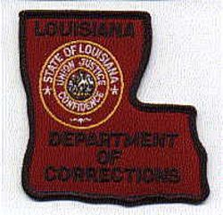 Dept. of Corrections Patch (LA)