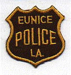 Eunice Police Patch (LA)